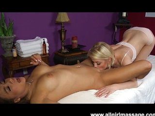 Ash Hollywood hot lesbian massage