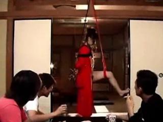Shibari Tied And Toyed Gradual Asian