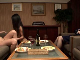 JAV Proximal Prison CFNF lesbian cunnilingus HD Subtitled