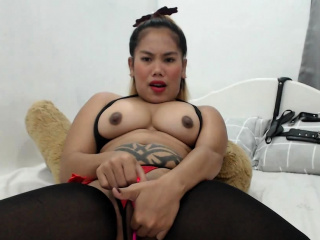 Unexcelled asian toys herself and buffers slowly