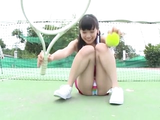 Very pretty Japanese babe shows not present on every side various outfits on every side this Japanese teen softcore video added to it looks awesome.