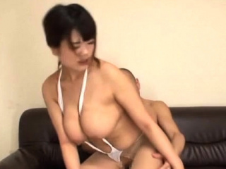 Lord it over sexy asian chick goes for a big rod in the office