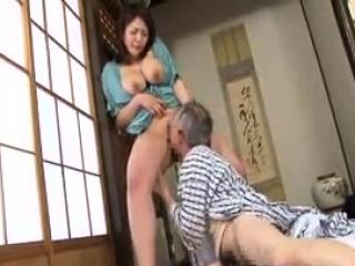 Fusty super Japanese wife titjob