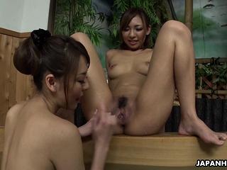 Japanese Akari Asayiri lesbian permit uncensored