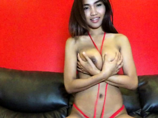 Big Special Thai hottie strips white-hot bikini