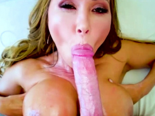Hot MILF Asian gets her monster breast fucked