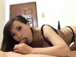 Chinese drab sucking my bushwa 4