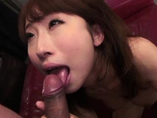 Japanese chick, Yui Misaki sucks dick, to the greatest