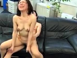 Asian slut Kana Kawai ape blowjob and hardcore