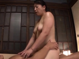 Excited oriental mature gets say no to mouth and pussy fucked