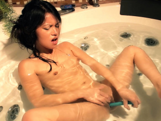 Look forward Me Vindicate My Asian Pussy Squirt In The Ba