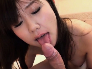 Appealing japanese stimulates her wet aperture connected with a sextoy