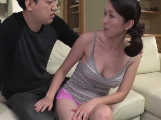 Making out Lasting My Japanese Asian Hairy Wifes Mam