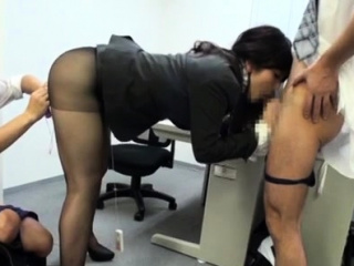 Very pretty office chick gets breathtaking sexual joy