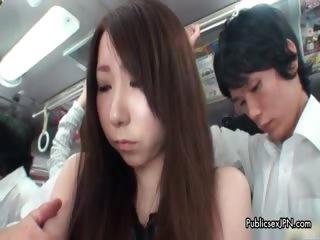 Cute asian indulge gets horny getting part5
