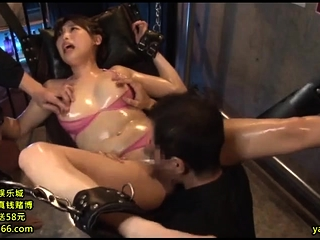 Asian MILF sizzling hot triptych with amateur couple