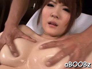 Fresh young gentleman Momoka Nishina with big tits gets herself off
