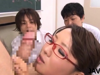 Wicked scenes of bawdy cleft stimulation by a hawt teacher