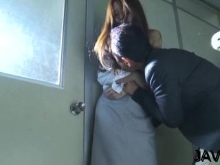 Mischievous eastern Manami Suzuki gets body caressed well