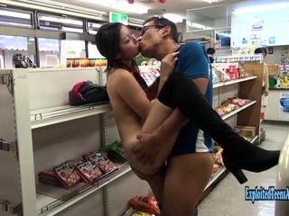 Jav Amateur Mizuki Fucks In Institutional latrine Store