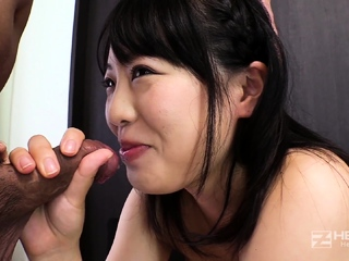 Japanese Anri with an increment of Kotomi POV Blowjob