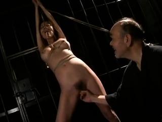 Japanese bondage hot sex upon 18 savoir faire old bdsm pussy