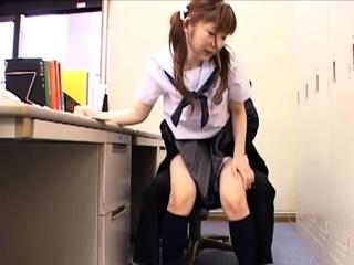 Old Teacher Fucking Consolidated Japanese Schoolgirl Teen