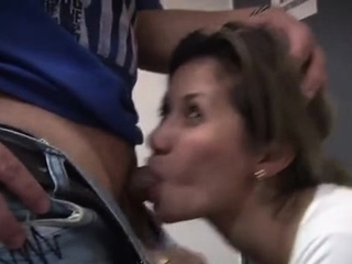 Happy doxy with a adorable feature gets fucked by a dude