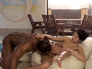 BLACK4K. Muscular black evanescent satisfies encompassing dirty needs