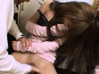 Slutty japanese bombshell Rion Ogura gets her putz out of kilter