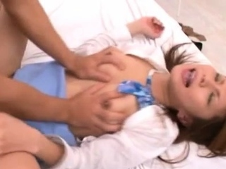 Amazing asian maiden Sana expreses her nastiness