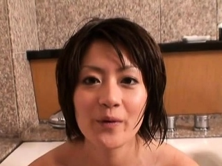 Dink sucking followed wits playful gf Yuki Hibino fuck