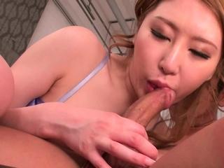 Japanese girl, Sayuki Hojo had hardcore sex, brimming