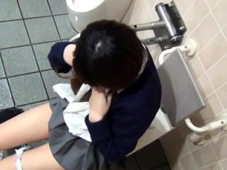 Uniformed japanese teenager