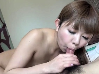 Impassioned Japanese hardcore fuck with slut