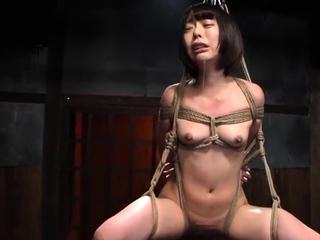 Hardcore well-built japanese bdsm sex