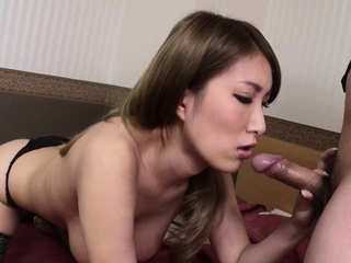 Japanese mistress, Yume Mizuki does her job, in toto completely
