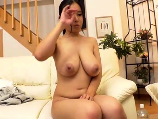 Japanese big boobs massaged 4