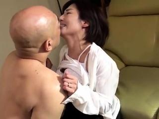 Keiko Etou Horny Tit Fucking Japanese Milf