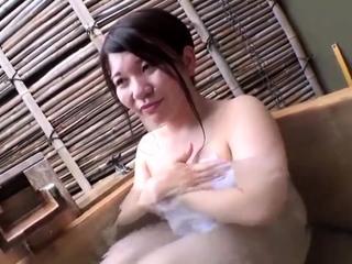 Japanese adult taking shower